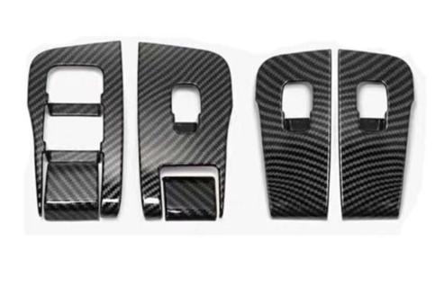 Model 3 fönsterhiss kolfibertrim matt/blank
