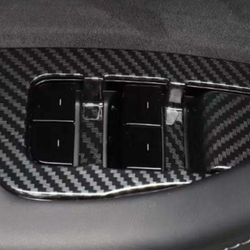 Model 3 fönsterhiss kolfibertrim
