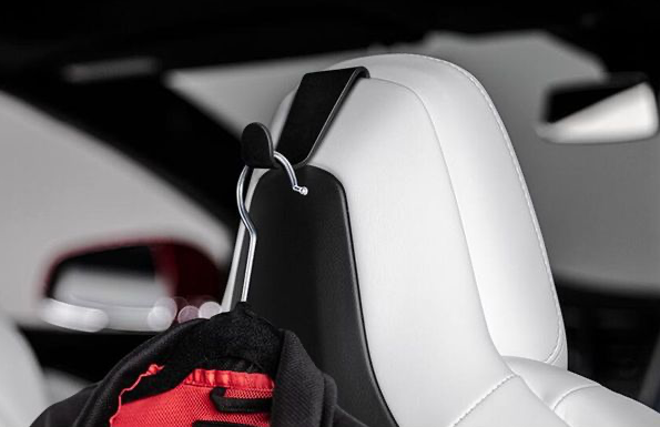 Tesla krok i svart aluminium S/X
