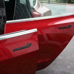 Model 3 Dörrhantag blank svart