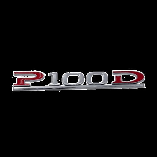 P100D Performance dekal