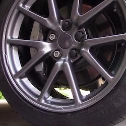 Model 3 mutterkåpor svart