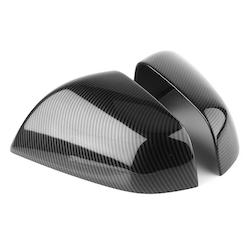Model X sidospeglar i ABS med kolfiber utseende