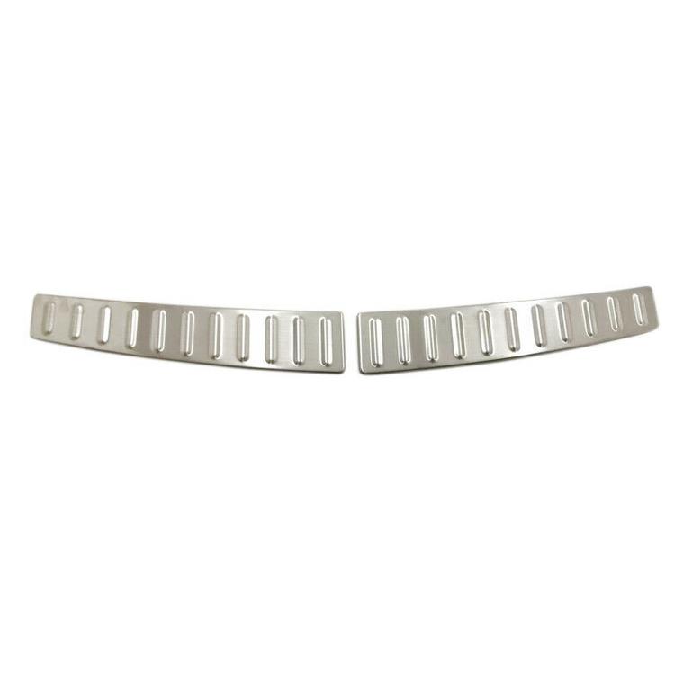 Model S lastskydd i metall för trunken silver