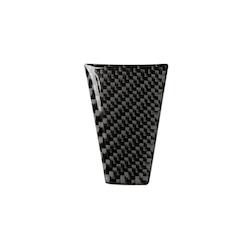 Model S/X nedre del ratt carbon fiber detaljer