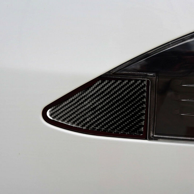 Model S/X kolfiber trim laddlucka