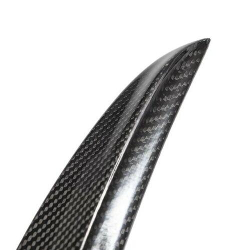 Model 3 Spoiler i kolfiber matt