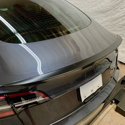 Model 3 Spoiler i ABS mattsvart