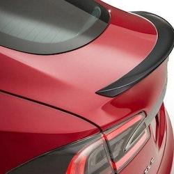 Model S Spoiler i kolfiber matt