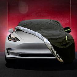 Model 3 skyddstäcke vattenavvisande med reflexer