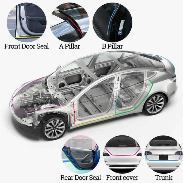 Tesla Dörrlister Model S, 3 och X - FYNDHÖRNAN