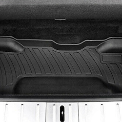 Model X nedre trunk matta för 6 & 7 sits