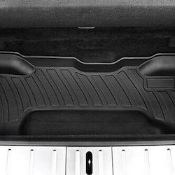 Model X nedre trunk matta för 6 & 7 sits