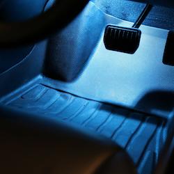 Tesla led lampor blåa 2-pack