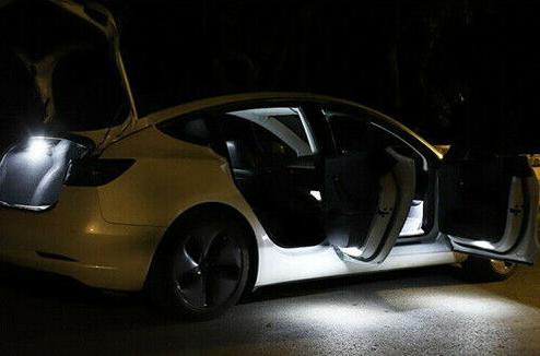 Tesla led lampor starka 2-pack