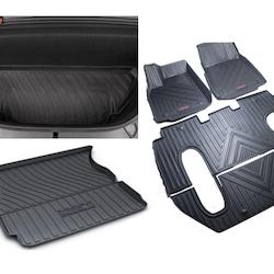 Model X Gummimattor paketpris 6-sits