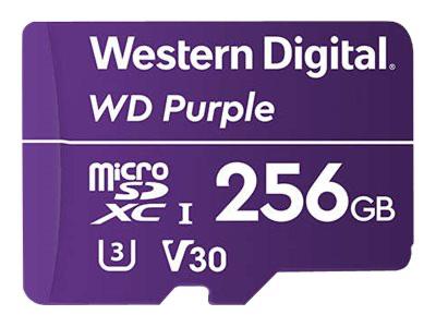 256GB Western Digital WD Purple MicroSD 2.0 cache