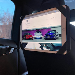 iPad hållare för Tesla Model S, 3, X och Y