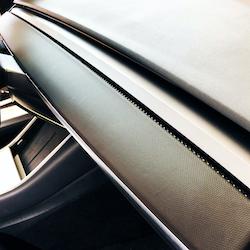 Air vent 3M folie för Model 3 & Y, flera färger