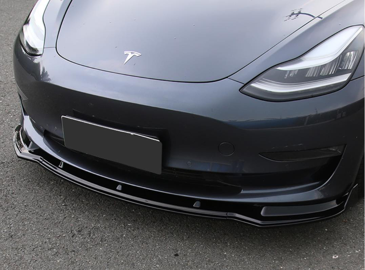 Model 3 Front spoiler olika färger typ 1