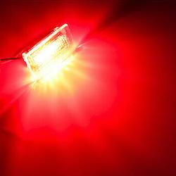 Tesla varningslampor röda 2-pack