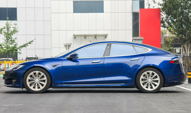 Model S solskydd aluminium