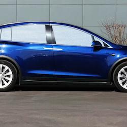 Model X solskydd aluminium
