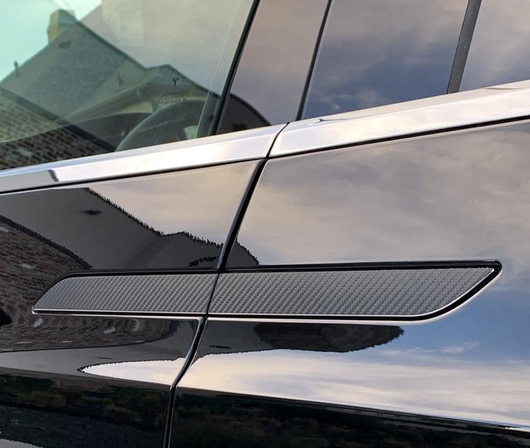 Model X Dörrhantag 3M folie
