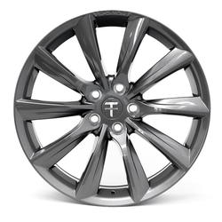 "T-sportline Model 3 19"" TST Turbine style space grey"