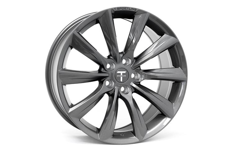 """T-sportline Model 3 19"""" TST Turbine style space grey"""