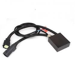 Tesla adapter för styrström (ALC) till extraljus /ledbar Model X