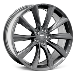 "T-sportline Model 3 20"" TST Turbine style space gray"