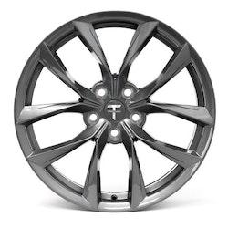 """T-sportline Model Y 19"""" TSS Arachnid style space gray"""