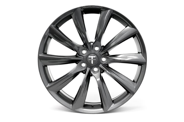 """T-sportline - Model Y 20"""" Turbine style (4 fälgar)"""