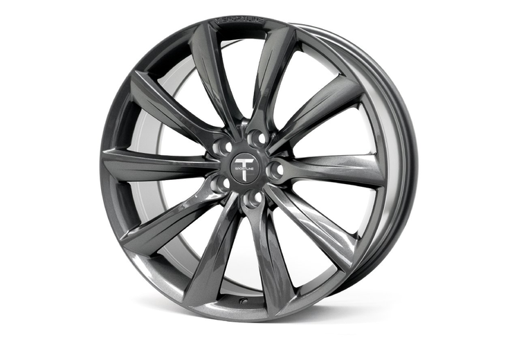 """T-sportline Model Y 20"""" TST Turbine style space gray"""