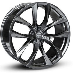 "T-sportline Model X 22"" TSS Arachnid style staggered space gray"