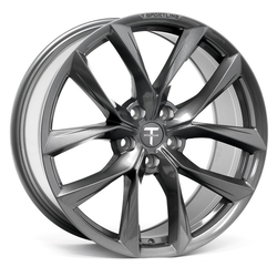 "T-sportline Model X 20"" TSS Arachnid style staggered space gray"