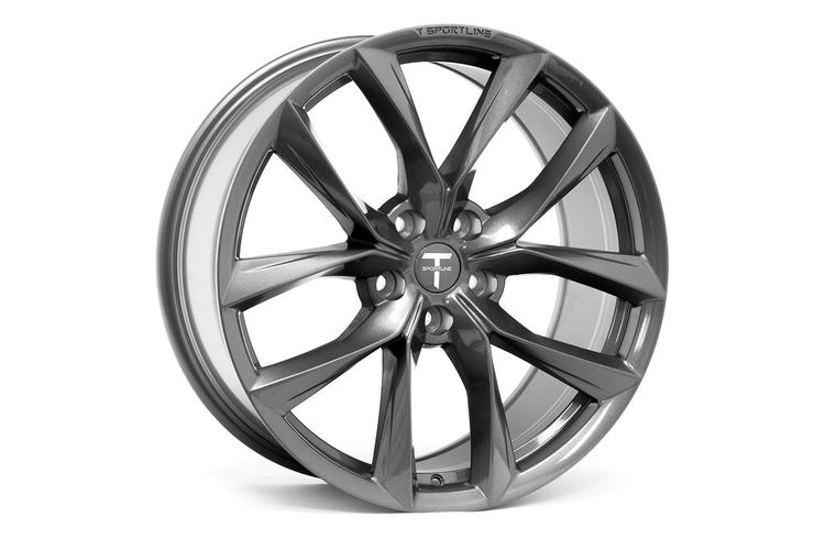 """T-sportline Model S 20"""" TSS Arachnid style space gray"""