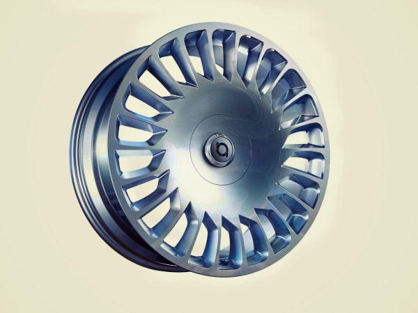 "The New Aero Razor 21"" Glossy Titanium"