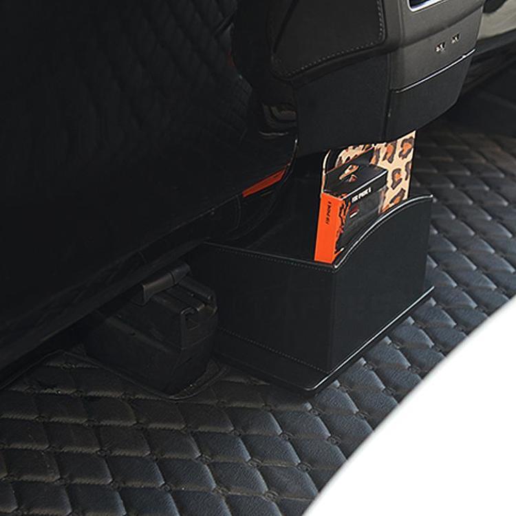 Mittenlåda för förvaring, läder, till Tesla Model X