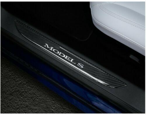 Model S insteg kolfiber trim