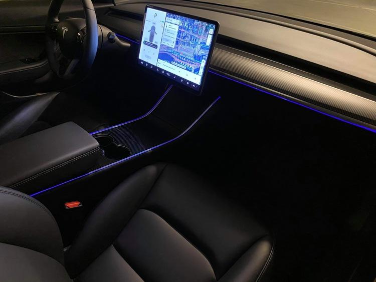 Tesla led strips, appstyrd - flera färger