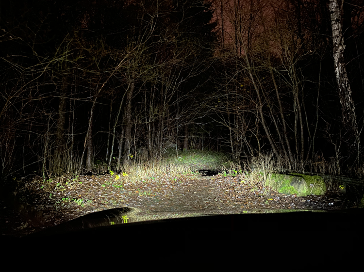 "VisionX LED Extraljusramp - Halo 30"" 115W Svängd"