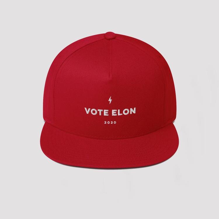 RED VOTE ELON CAP