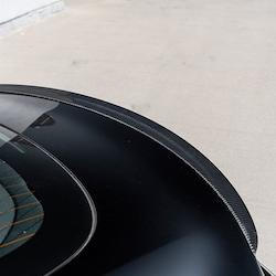 Model 3 Spoiler i kolfiber blank (PROTOTYP)