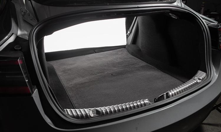 Model 3 tygmatta trunk