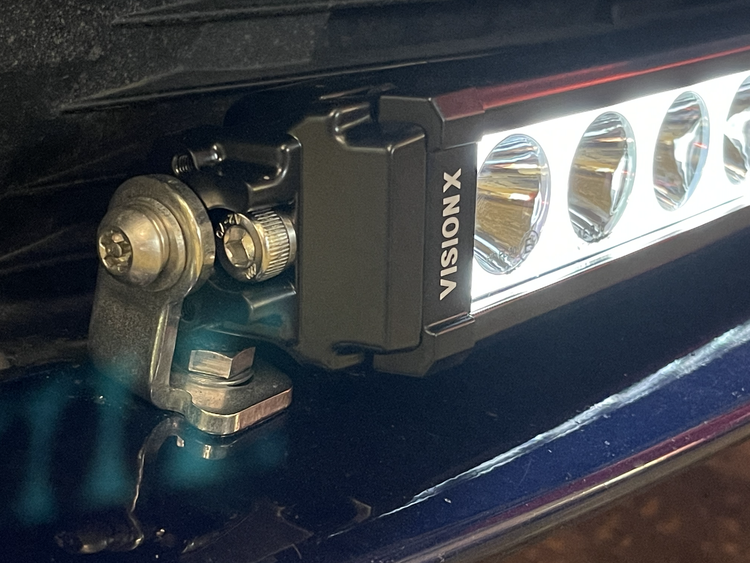 """Säkerhetsbult/låsmutter VisionX ljusramp - Halo 30"""""""