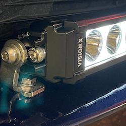 """Säkerhetsbult/låsmutter VisionX ljusramp - Halo 30"""" 115W Svängd"""
