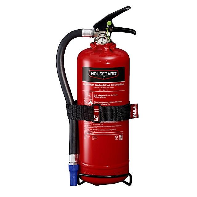 Brandsläckare för bilen - 2 kg Housegard