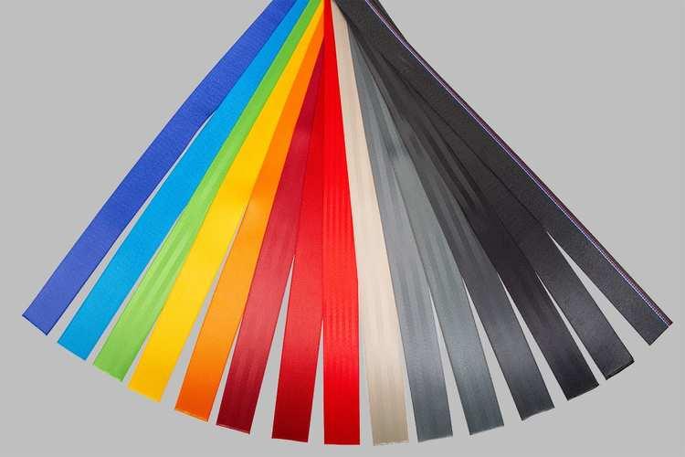Säkerhetsbälten färg